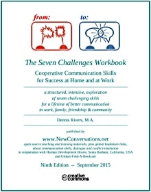 Cover of Seven Challenges Communication Skills Workbook